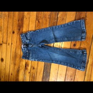 Levi's jeans with sparkle buttons